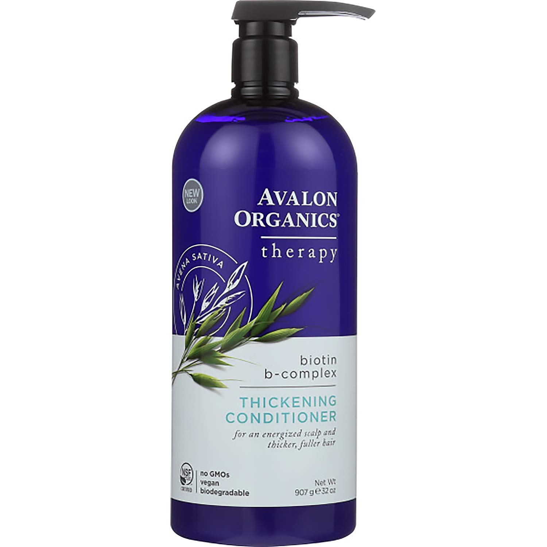 Avalon Organics Therapy Thickening B-Complex Houston Mall Conditioner Biotin Sales for sale