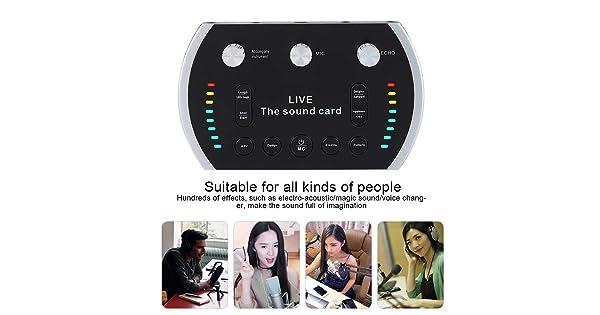 DJ Equipment Mixers Ps4 sound card Fealliance B5 Colorful Light ...