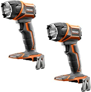 Ridgid (2) 18 Volt Gen5x Lithium Cordless Led Work Light Flashlight R8693