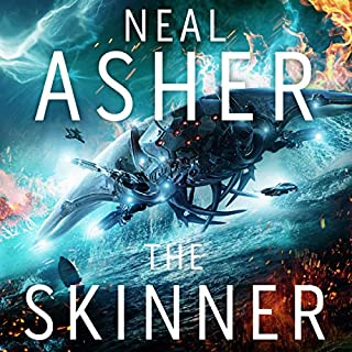 The Skinner     The Spatterjay Series: Book 1              By:                                                                                                                                 Neal Asher                               Narrated by:                                                                                                                                 William Gaminara                      Length: 15 hrs and 58 mins     186 ratings     Overall 4.2