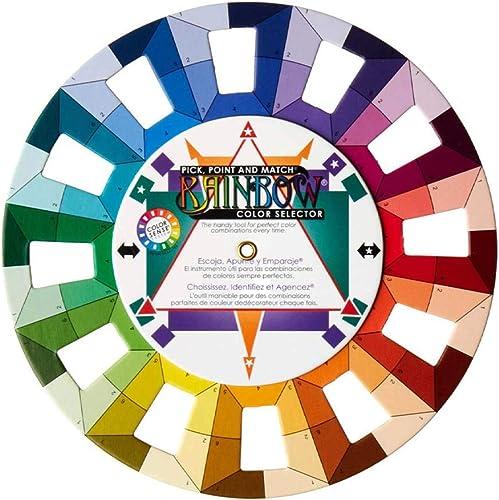 Selector,Rainbow Color Wheel