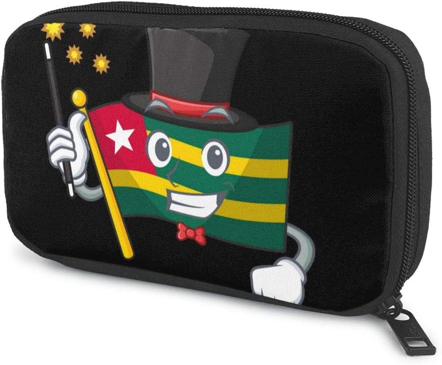 Togo Flag Excellence Magician Popular standard Electronics Travel Gadget Bag Organizer Tech