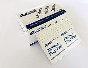 Alcohol Swabs Prep Pads Wipe Cleanser Medical Swabs 100Pcs/box