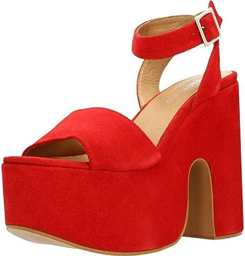Damen Sandalen, Farbe Hellbraun, Marke Gelb, Modell 78847 Piedra