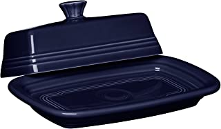 Fiesta Dinnerware Large Covered Butter Dish Cobalt Blue