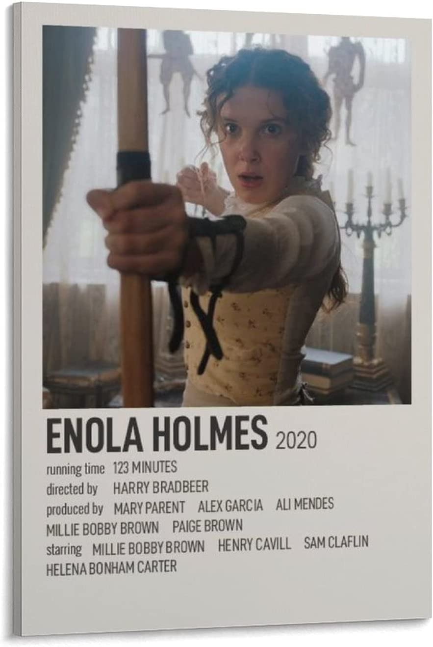 quality assurance MaizhewanArt Enola Holmes2020 Posters for Room Pri store Aesthetic 90s