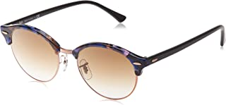 Ray-Ban CLUBROUND RB 4246 BLUE HAVANA/BROWN SHADED 51/19/145 unisex Sunglasses