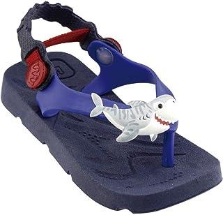 Chinelo Plugt Beach Tubarão Infantil