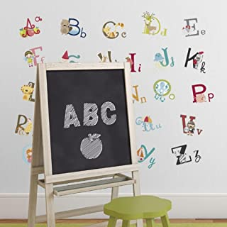 Big Graphic Alphabet Letters Kids Room/Nursery Wall Decal Stickers