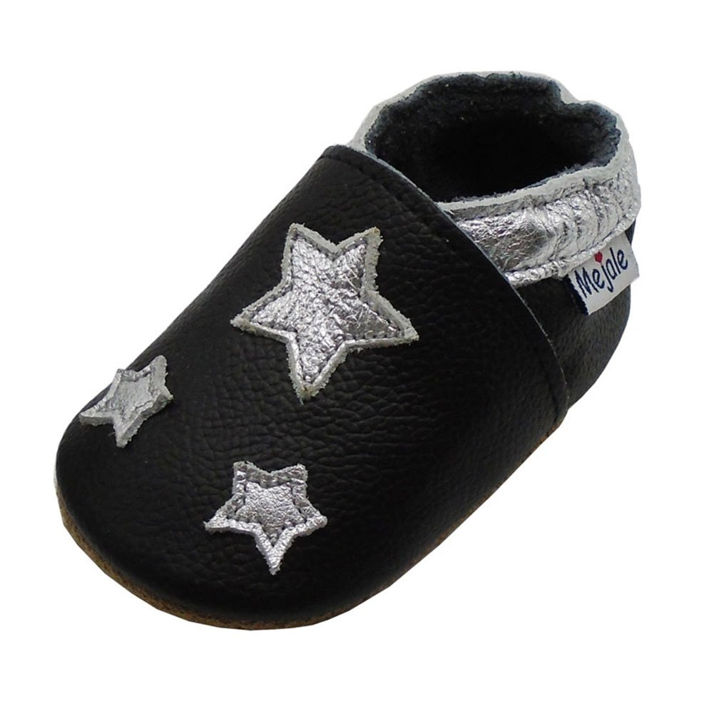 Toddler Baby Crawling Slipper Toddler Infant Soft Leather First Walking Shoes