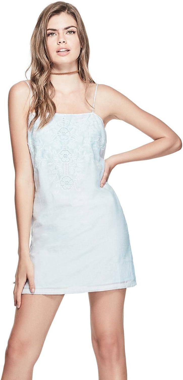 GUESS Women's Judy Embroidered Dress
