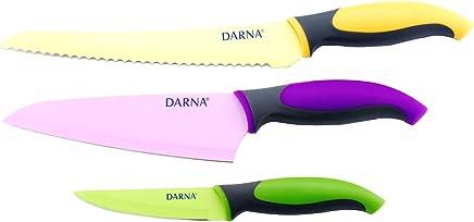 Darna Home Set 3 Cuchillos Esmaltados
