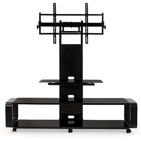 Transdeco Tv Stand For 35 85 Tv Black Furniture Decor