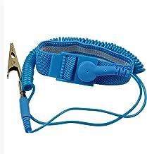 Pulsera anti-estática portátil con banda de goma y clip para la herramienta de reparación de equipos electrónicos sensibles