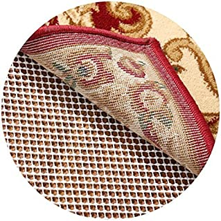Rose Home Fashion RHF Non-Slip Area Rug Pad Round 6' - Protect Floors While Securing Rug and Making Vacuuming Easier Round 6'