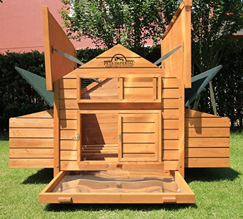 Pets Imperial Savoy Large Chicken Coop With 1.4m Run