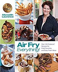 Meredith Laurence's air fry recipes cookbook. Check price on Amazon