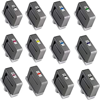 Canon PFI-306 Ink Tank Bundle (Matte Black, Black, Cyan, Magenta, Yellow, Photo Cyan, Photo Magenta, Red, Green, Blue, Gra...