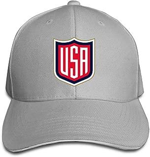 Kualday 2016 World Cup of Hockey Team USA Plain Adjustable Snapback Hats Caps