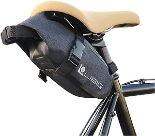 【国内独占】【1.5Lコンパクトに見えて大容量】LIBIQ(リビック)サドルバッグ フレームバッグ 防水バッグ ロードバイク クロスバイク MTB オールウェザーロール 大容量でも見た目もコンパクトサドルバッグ