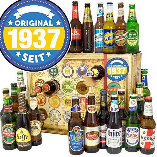 Original seit 1937 - Adventskalender mit Bier - Biere aus der Welt