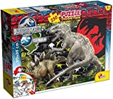 Lisciani 48649 – Jurassic World Carnifex Puzzle DF Plus, 250 Piezas