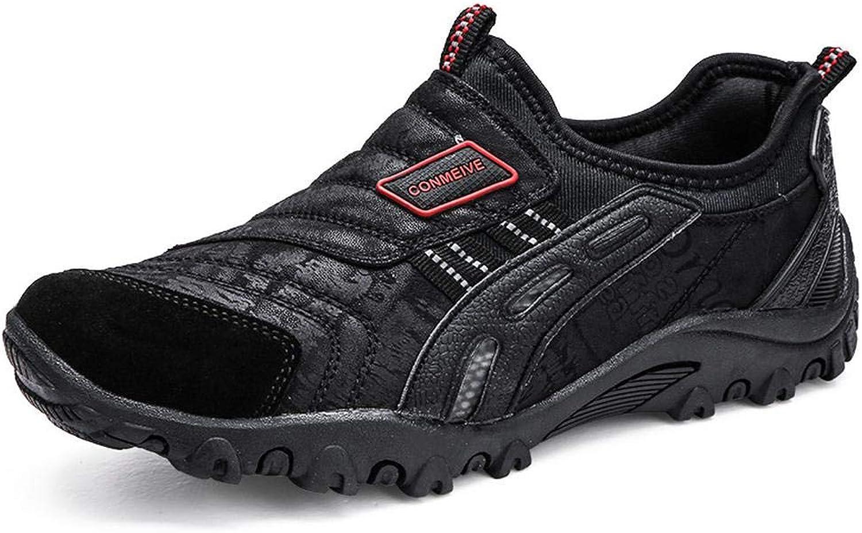 QIKAI Hiking shoes Men's Fashion Outdoor Pedal shoes Non-Slip Leisure Walking shoes,for Hiking Running Trail Climbing Outdoor