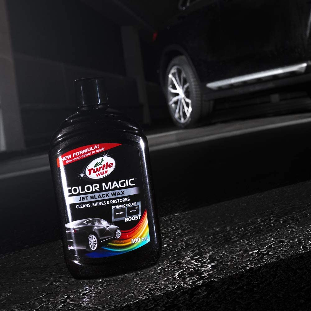 Turtle Wax 52708 Color Magic Polieren Und Lackieren 500ml Schwarz Auto