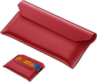 Wuzixi Case for Realme Narzo 20A, premium leather magnetic flip cover case, suitable for Realme Narzo 20A.Red