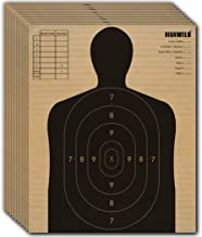 Highwild Adjustable Target Stand Base for Paper Shooting Targets Cardboard Silhouette - H Shape - USPSA/IPSC - IDPA Practice - 13