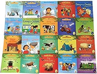20Books/Set 15x15cm kids Usborne Picture Books Children Baby famous Story English Child Book Farmyard Tales Story Eary edu...