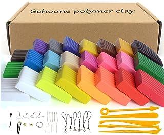 Set de bloques de arcilla polimérica para modelado, 24
