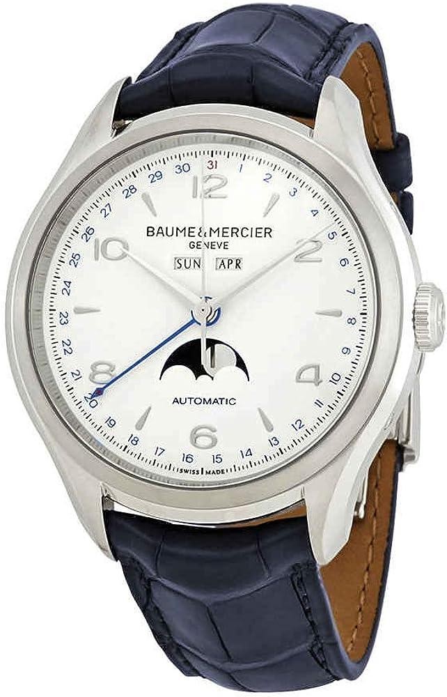 Baume et mercier clifton orologio automatico da uomo clifton moonphase M0A10450