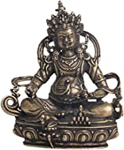 Pure Brass Made Old Tibetan Buddha Statue Decoration Home Decoration