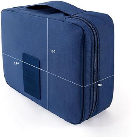 bolsa de aseo / Organizador especialmente concebido para los viajes, el maquillaje y artículos de higiene personal (Azul)