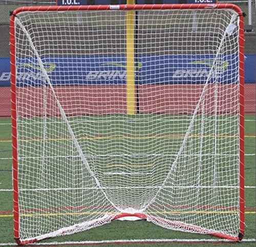 Brine Backyard Lacrosse Goal (Net Included), 6 x 6 x 7-Feet