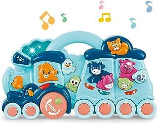 Baby G Activity Animal Train, Multicolor
