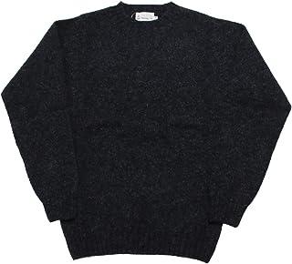 [インバーアラン]INVERALLAN シェットランドセーター ニットウェア クルーネックセーター