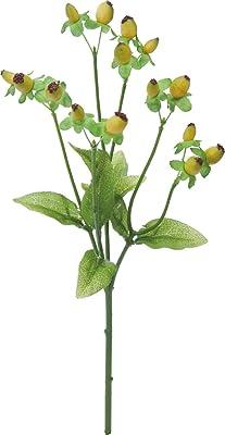 ポピー(Popy) 造花 ヒペリカム ライトグリーン 全長32cm・実径0.5~1cm FGH-0005L/G