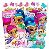 Shimmer and Shine Board Books Set - 2 Books and Bonus Stickers