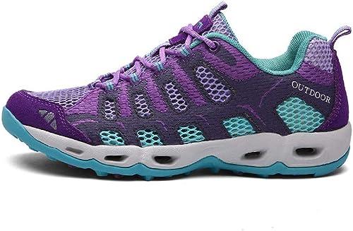 ZX Calzado de Senderismo Calzado Impermeable para herren Calzado Deportivo Calzado para Damas Calzado para Caminar Al Aire Libre Calzado para Caminar, schuhe de Senderismo, 8 UK