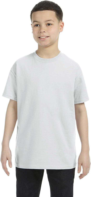 By Gildan Gildan Youth 53 Oz T-Shirt - Ash Grey - S - (Style # G500B - Original Label)