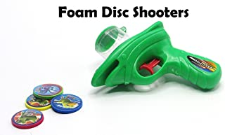 Gun Shooting Foam Sport Blasting Shooter Gun Amazingly Shooting Disc Up To 20 Feet! Manufactured by Toy Cubby pack of 2 guns