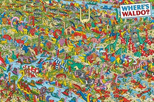 Studio B Wheres Waldo? Dinos Poster 36x24 inches