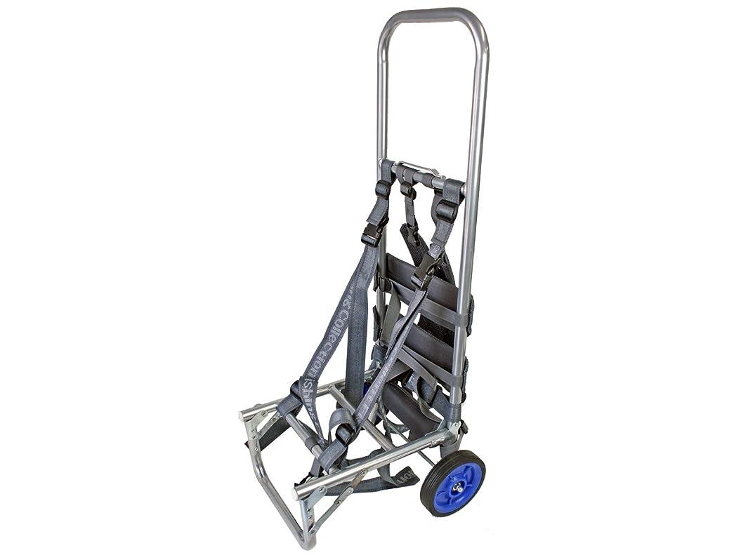 幸運な週間平らにする背負子 アルミキャリーカート BB-903 (Mサイズ) バックパック