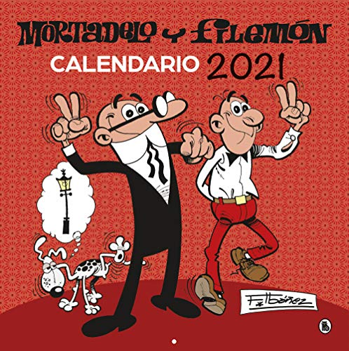 CALENDARIO 2021 MORTADELO Y FILEMÓN (Bruguera Clásica)