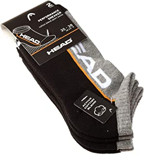 Calcetín Invisibles - 2 pack - Sin compresion - suela de tejido de rizo - Tenis - Fine - Performance Sneaker