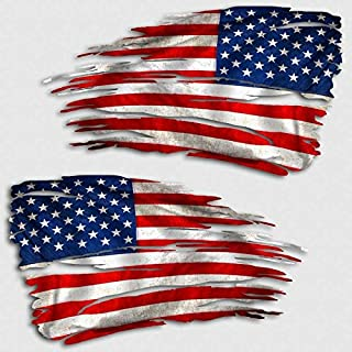 Best tattered american flag sticker Reviews