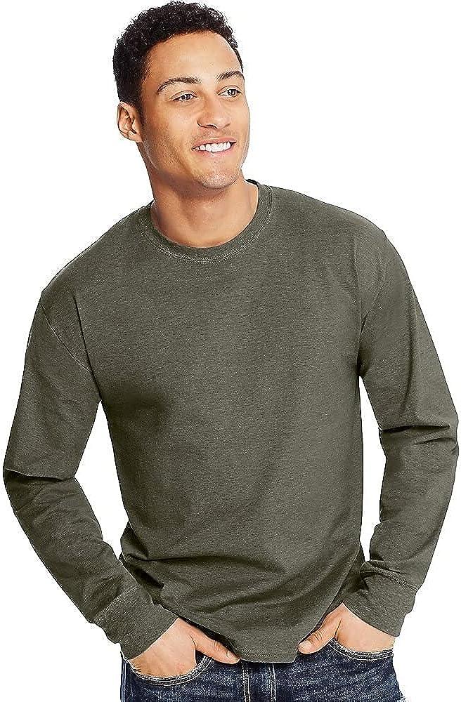 Hanes X-Temp Long-Sleeve T-Shirt (O5716)
