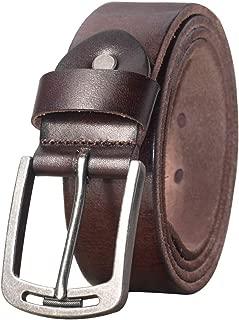 Men's Soft Top Grain 100% Leather Belt